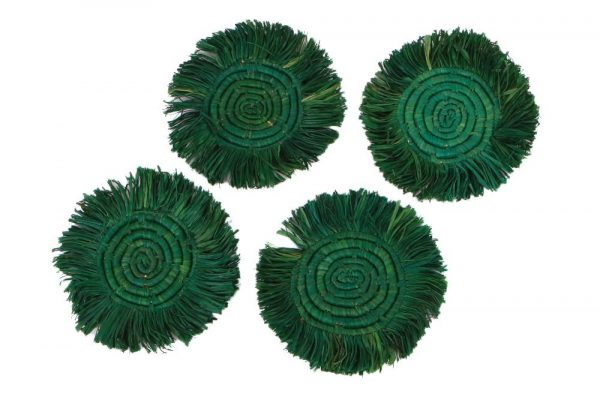 Emerald Green Drink Coasters for Housewarming 2021